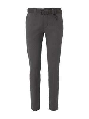Tom Tailor 1020451 men's chino charcoal