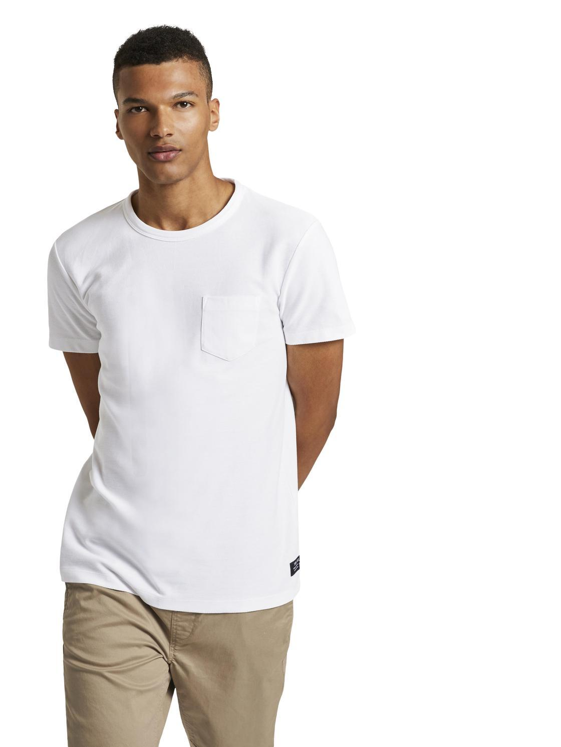 Tom Tailor offwhite t-shirt 1021282
