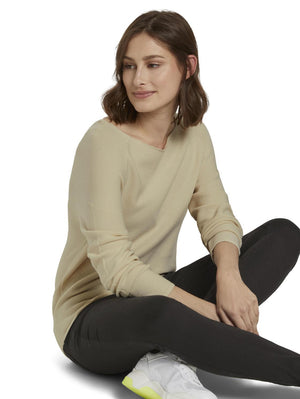Tom Tailor 1020283 women's sweater cream