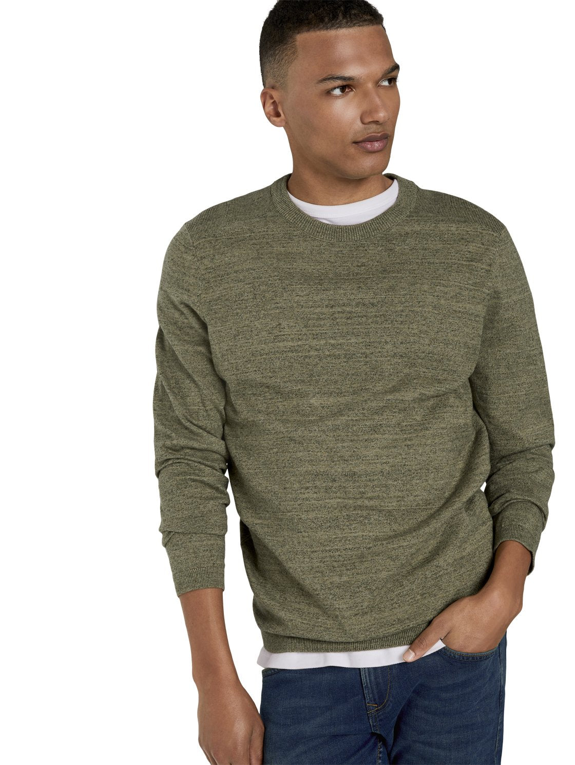 Tom Tailor green sweater 1020349