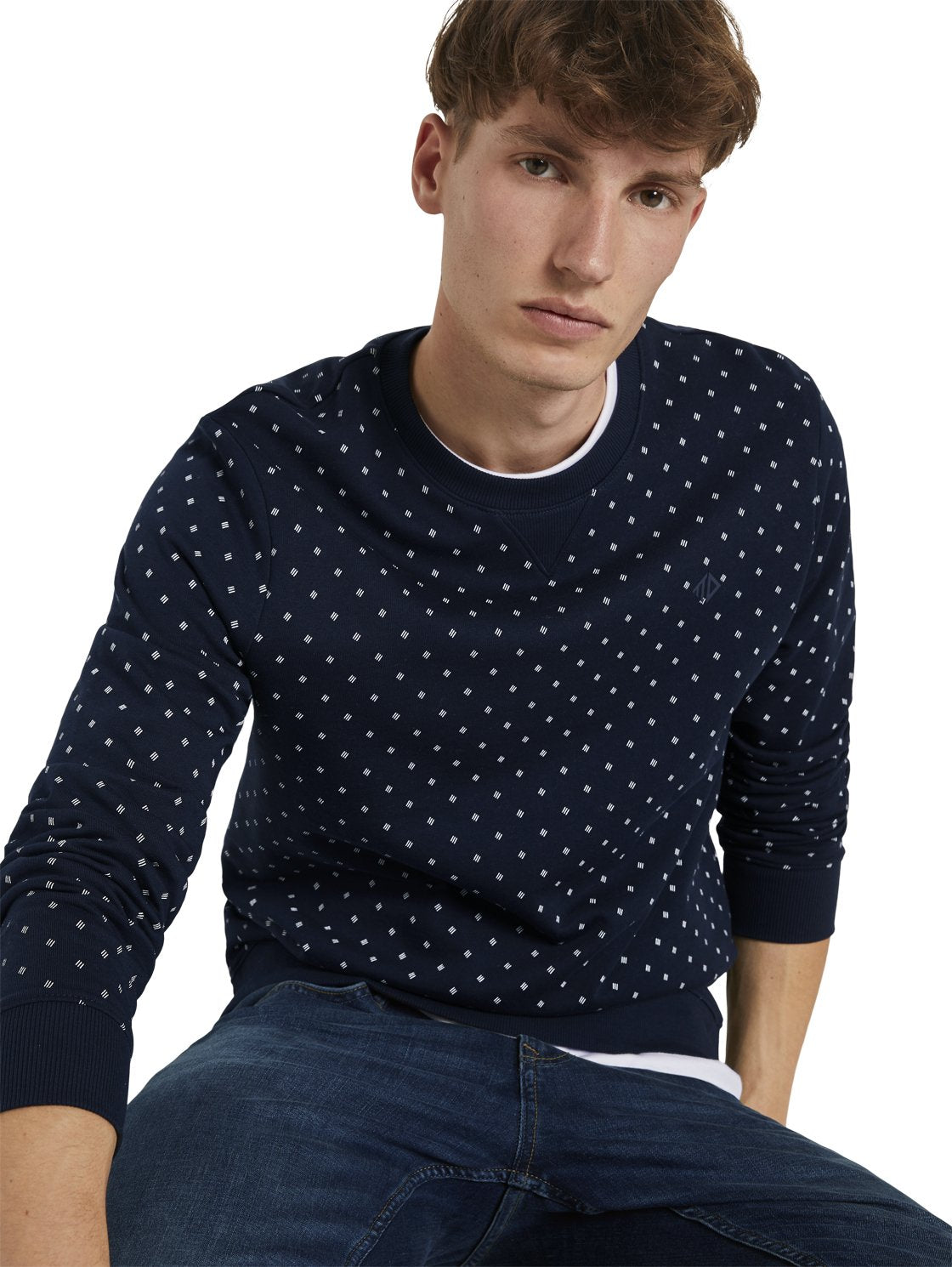 Tom Tailor 1021341 men's sweater navy