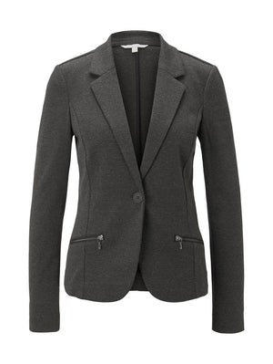 Tom Tailor charcoal blazer 1021909
