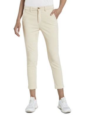 Tom Tailor cream corduroy pants 1021934