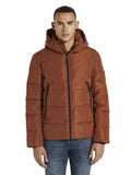 Tom Tailor puffy jacket 1020240 brick