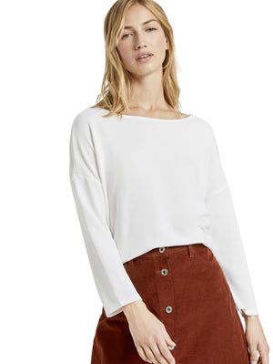 Tom Tailor offwhite top 1021109
