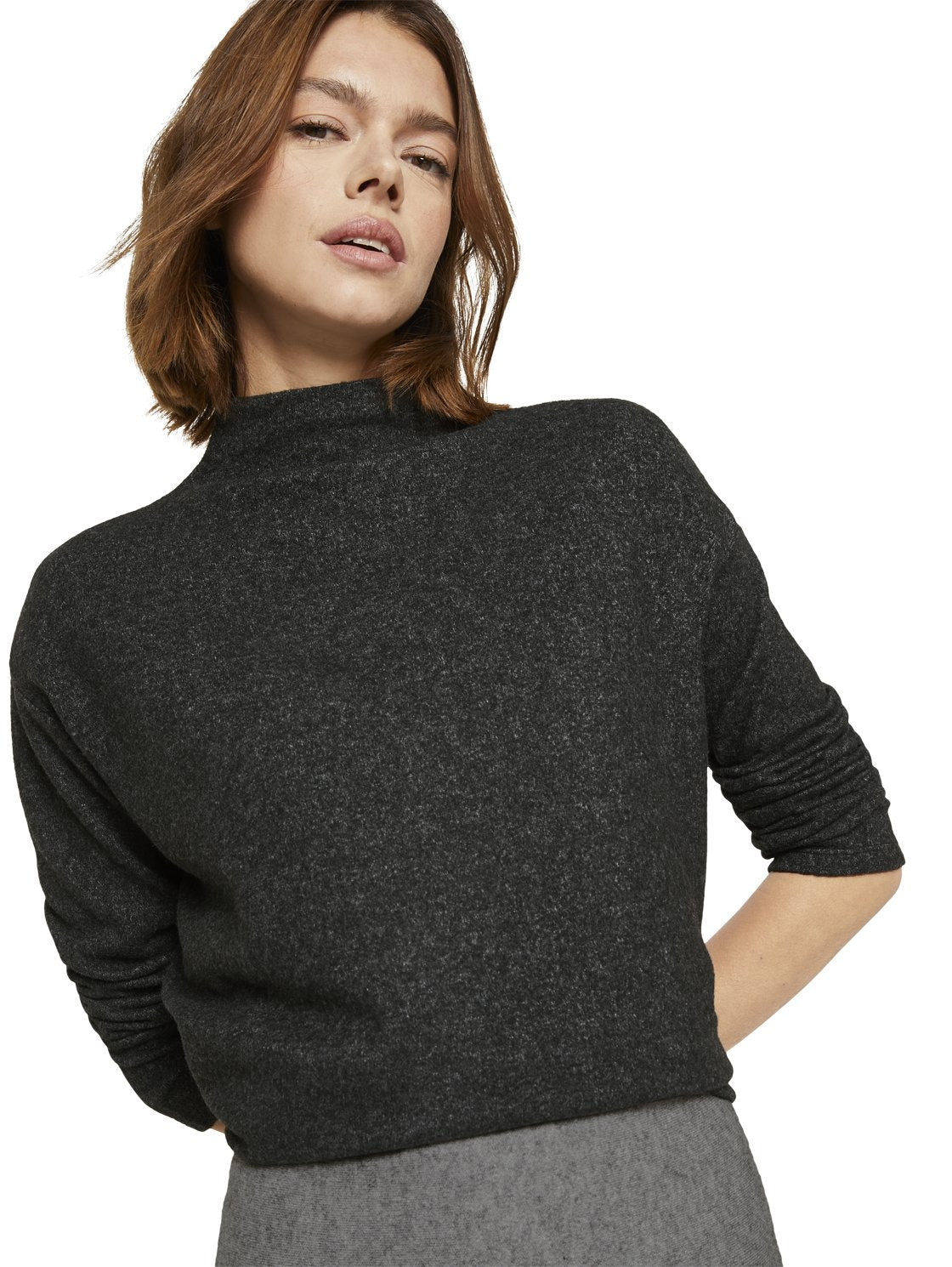 Tom Tailor charcoal top 1021113