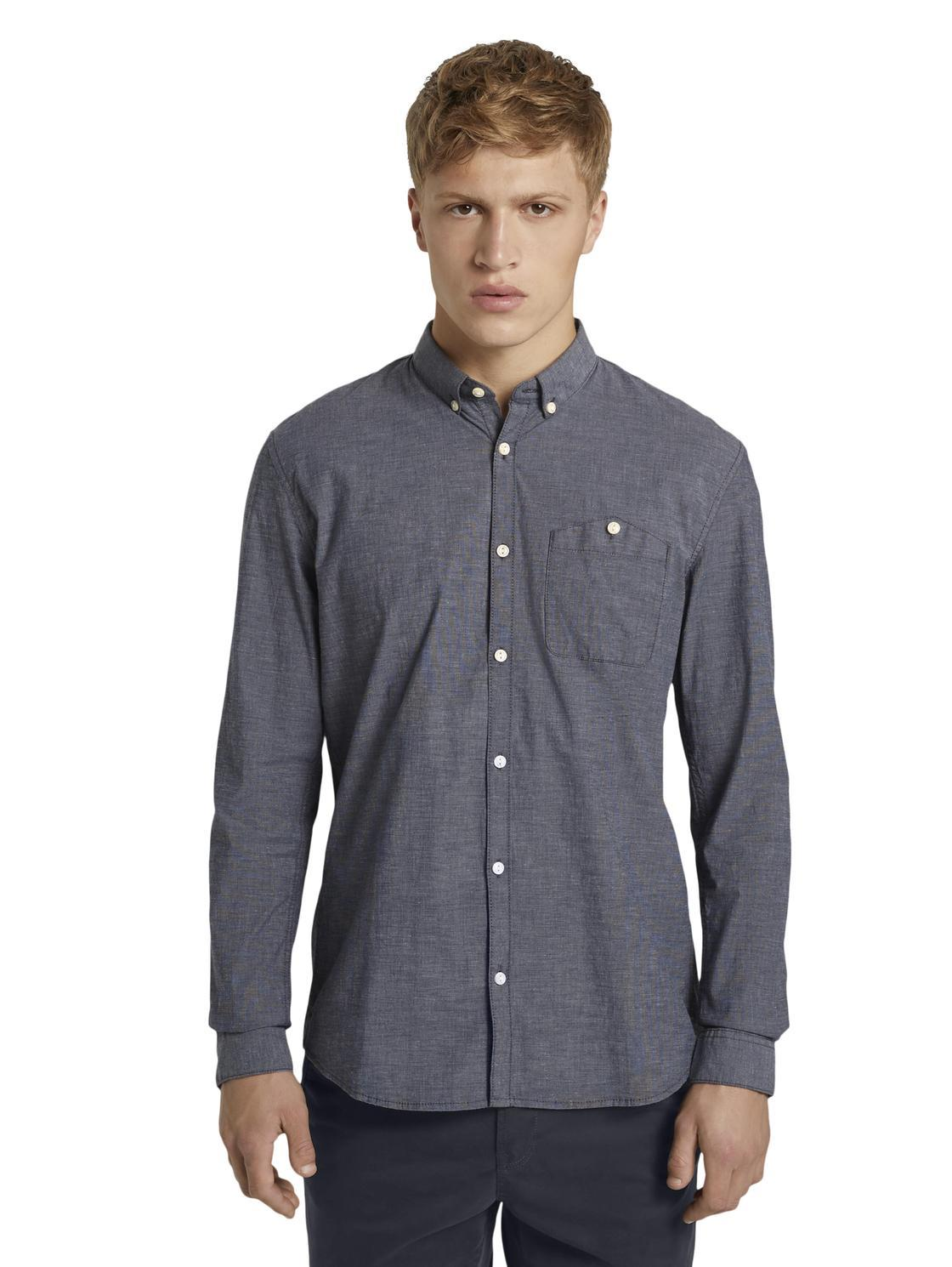 Tom Tailor 1020189 men's shirt navy