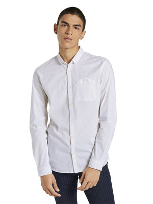 Tom Tailor 1020189 men's shirt offwhite