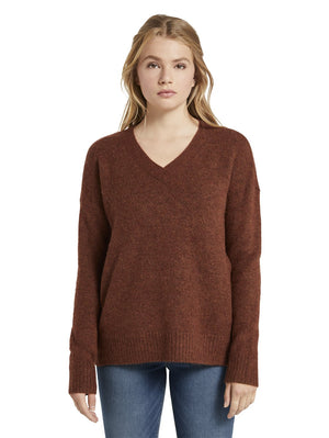 Tom Tailor 1021144 sweater brown