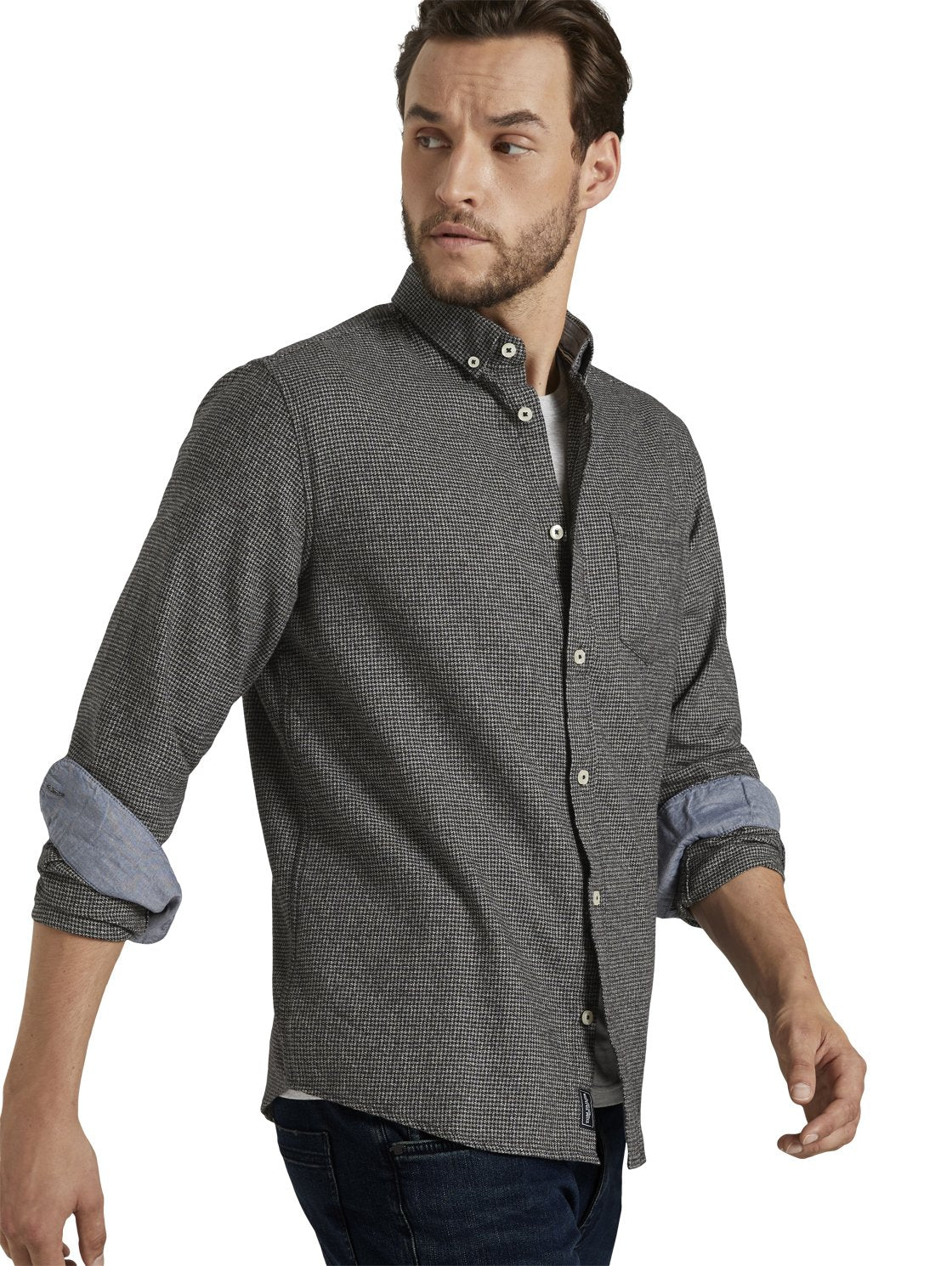 Tom Tailor charcoal shirt 1021254