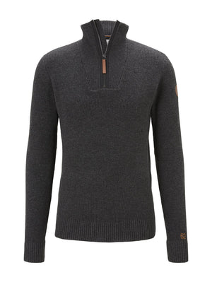Tom Tailor men's charcoal sweater 1021452