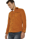 Tom Tailor 1021888 corduroy shirt orange