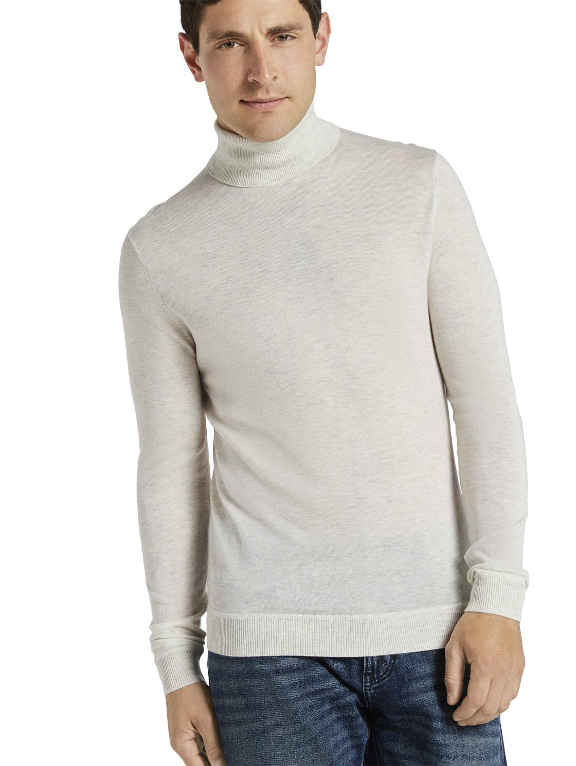 Tom Tailor grey merino wool turtleneck 1021492