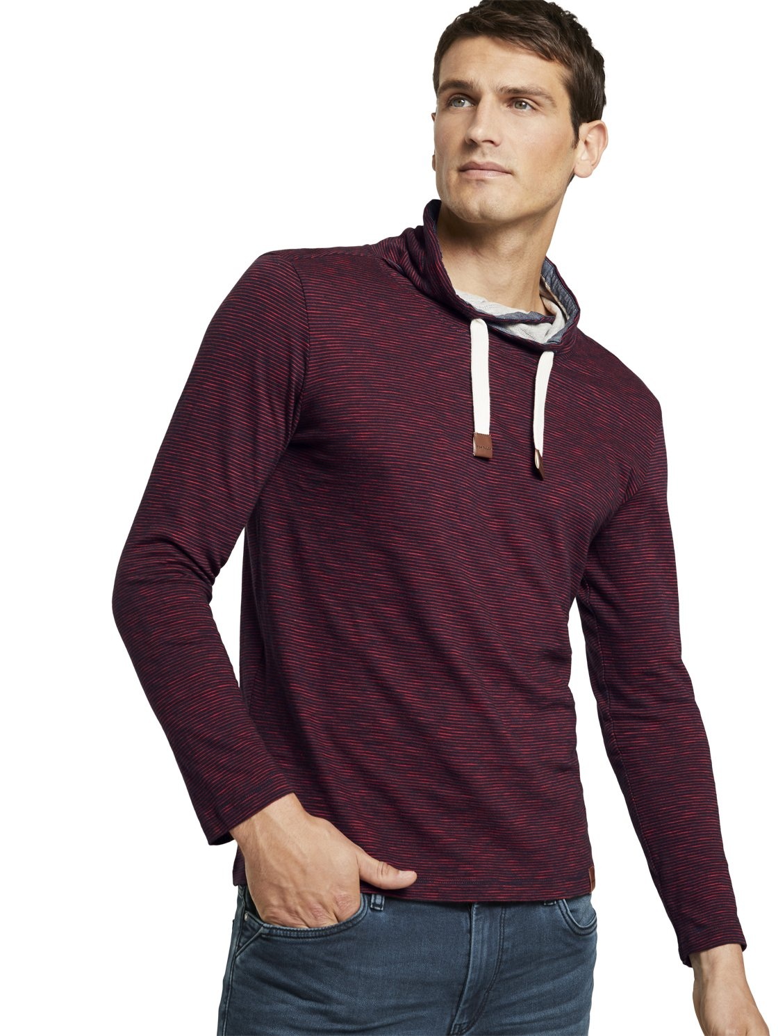 Tom Tailor men's sweater red 1022754