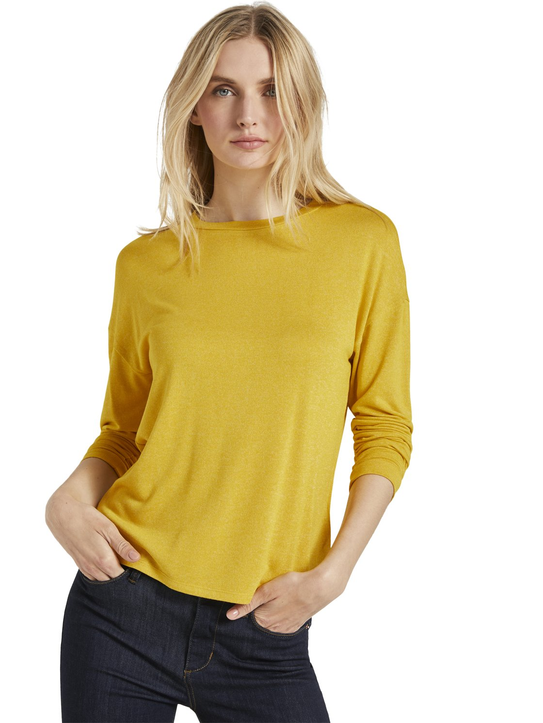 Tom Tailor yellow t-shirt 1022698