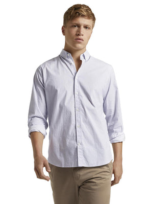 Tom Tailor 1021064 men's shirt offwhite