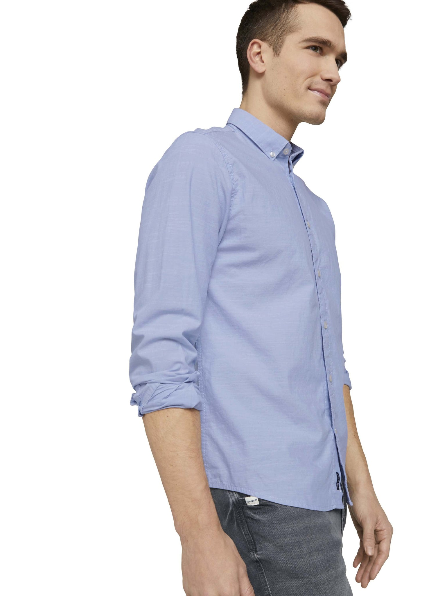 Tom Tailor smart shirt blue 1024750