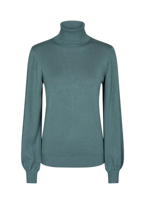 Soya Concept bell sleeve sweater 32998 shadow
