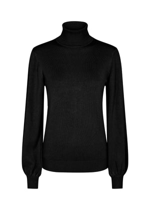 Soya Concept bell sleeve sweater 32998 black