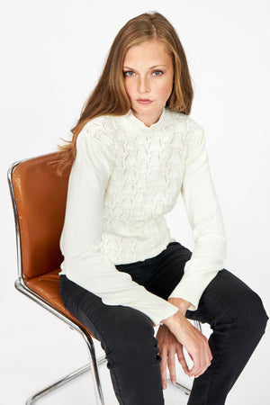 Soya Concept Blissa 10 offwhite sweater 33002