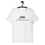 2020 REVIEW WITH 1 STAR RATING T-SHIRT