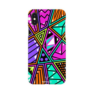 SHATTERED COLORFUL PIECES - MOBILE CASE - Patch Fusion