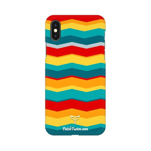 COLORFUL WAVE - MOBILE CASE - Patch Fusion