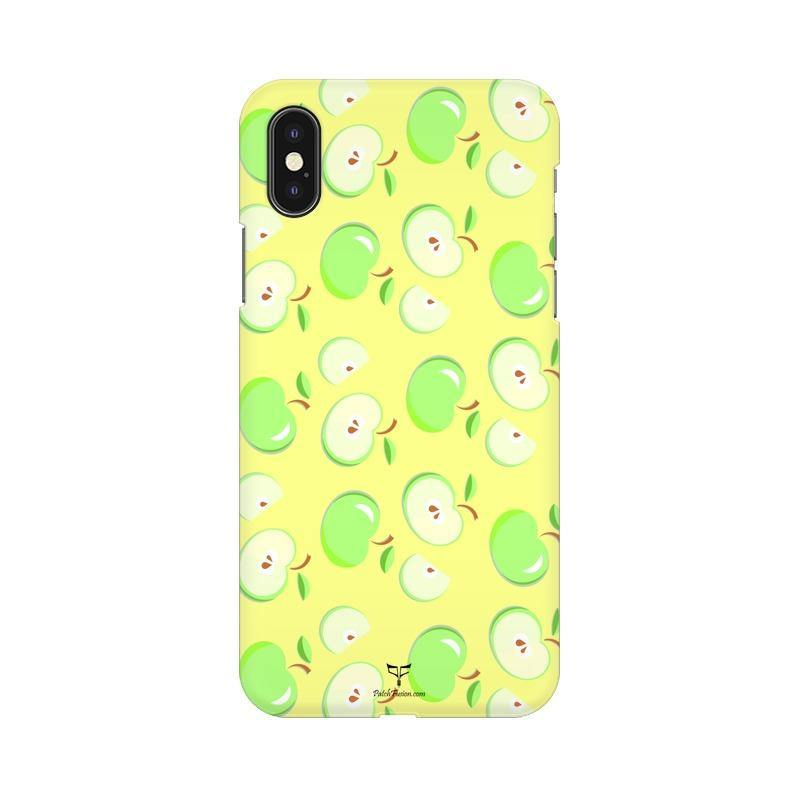 GREEN APPLES - MOBILE CASE - Patch Fusion