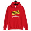 DO NOT DISTURB I AM GAMING - UNISEX HOODIE - Patch Fusion