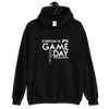 EVERY DAY IS GAME DAY - BLACK UNISEX HOODIE - Patch Fusion