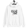EVERY DAY IS GAME DAY - WHITE UNISEX HOODIE - Patch Fusion