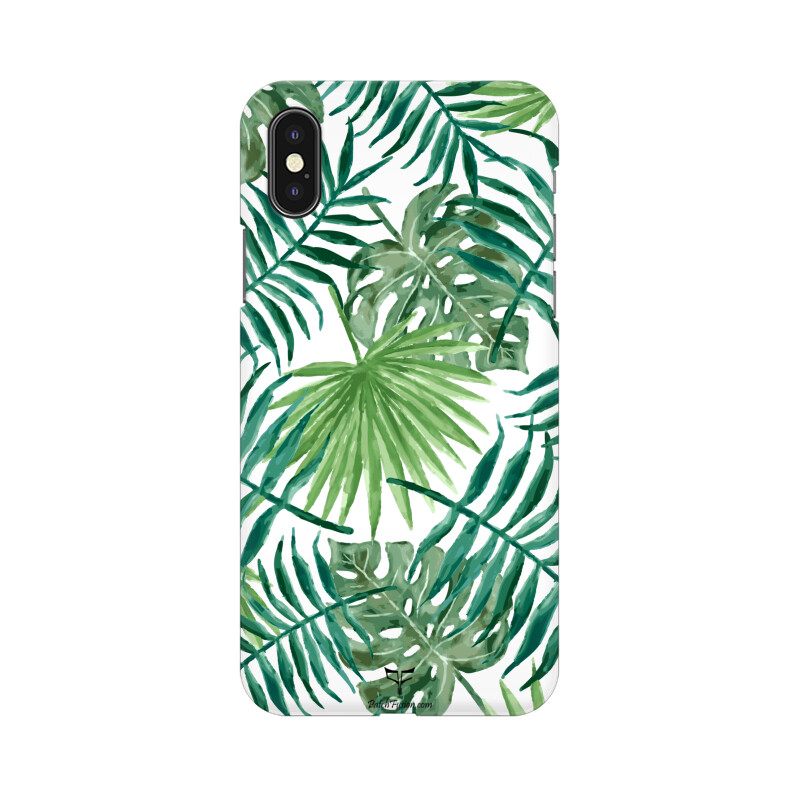 GREEN LEAVES - MOBILE CASE - Patch Fusion