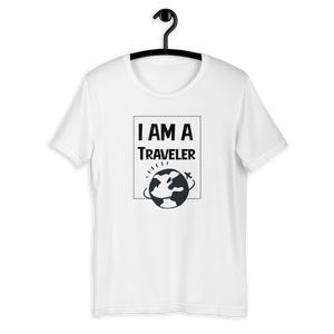 I AM A TRAVELER T-SHIRT - Patch Fusion