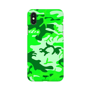 LIGHT GREEN CAMOUFLAGE - MOBILE CASE - Patch Fusion