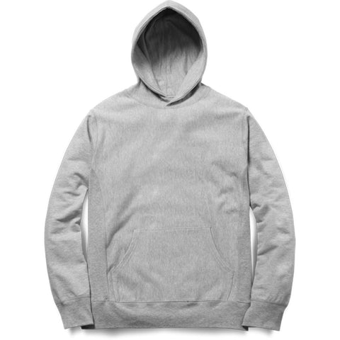PLAIN GREY  - UNISEX HOODIE - Patch Fusion
