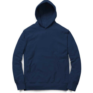 PLAIN NAVY BLUE - UNISEX HOODIE - Patch Fusion