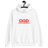 OGD : OBSESSIVE GAMING DISORDER - WHITE UNISEX HOODIE - Patch Fusion