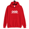OGD : OBSESSIVE GAMING DISORDER - RED UNISEX HOODIE - Patch Fusion