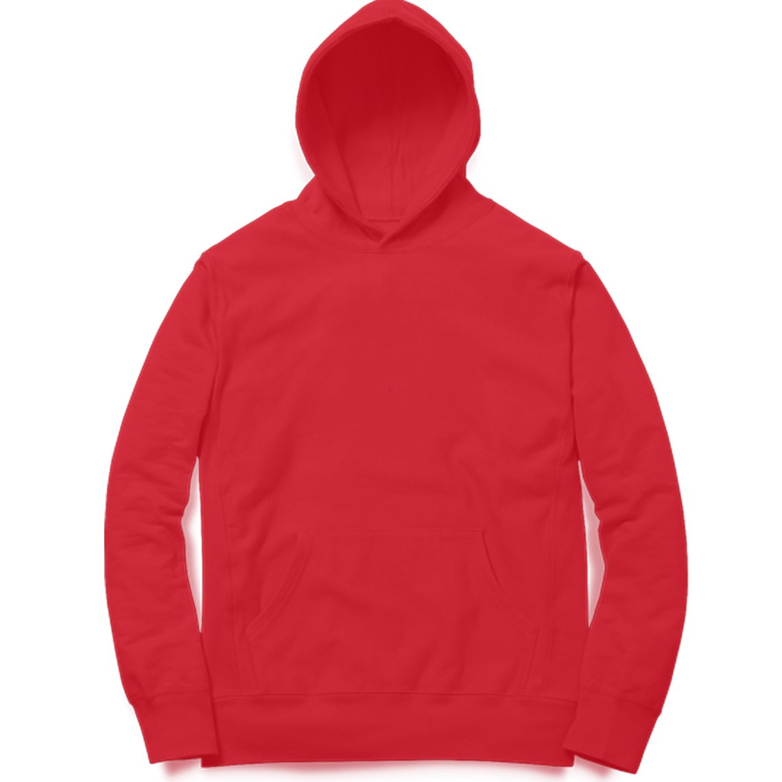 PLAIN RED - UNISEX HOODIE - Patch Fusion