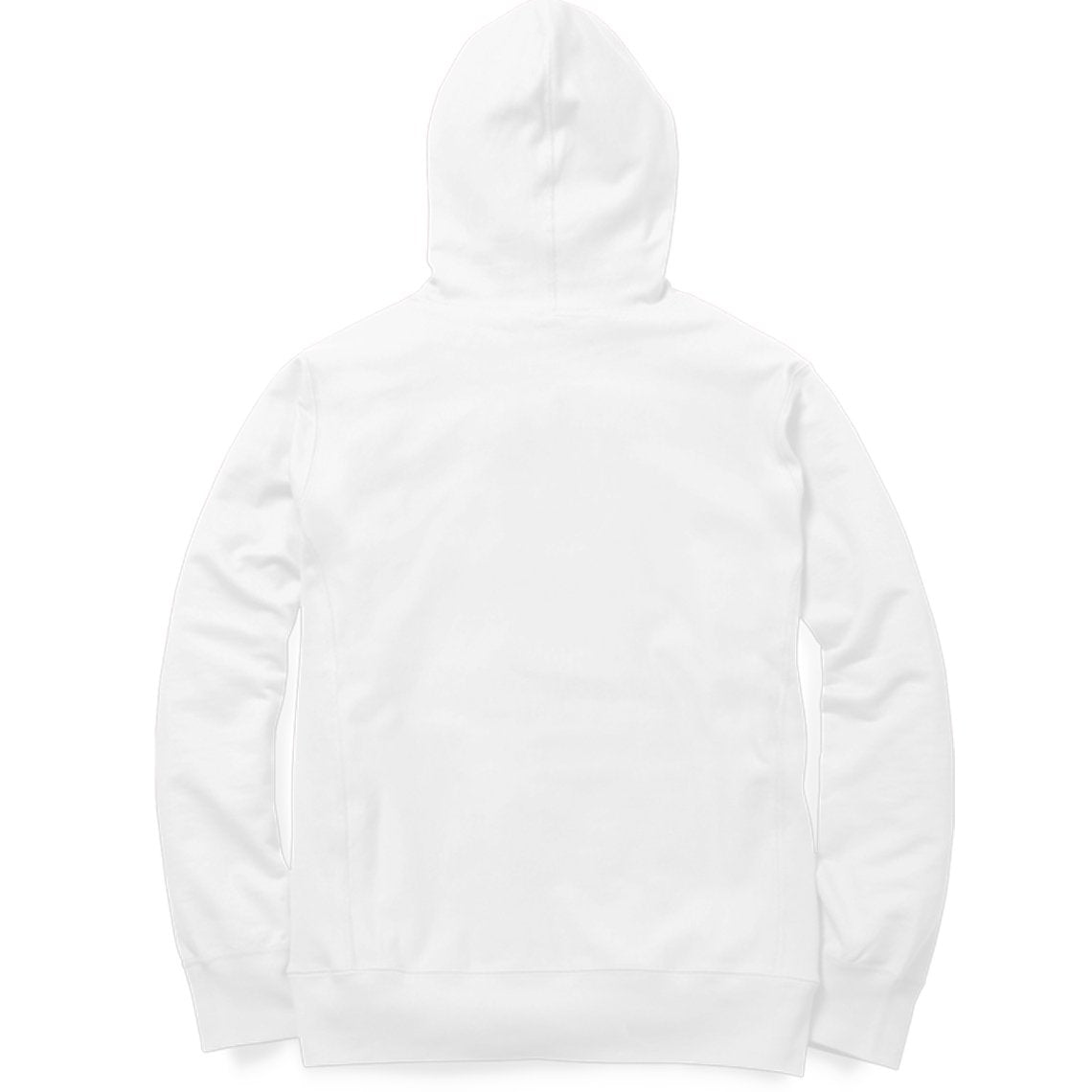 PLAIN WHITE - UNISEX HOODIE - Patch Fusion
