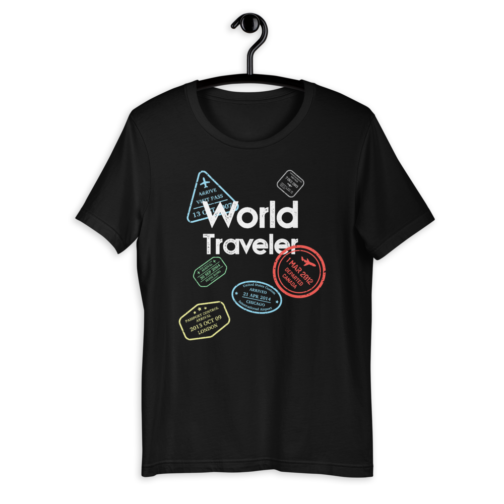 WORLD TRAVELER T-SHIRT - Patch Fusion