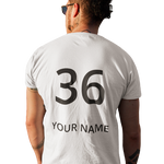 CUSTOMIZED NAME & NUMBER T-SHIRT - Patch Fusion