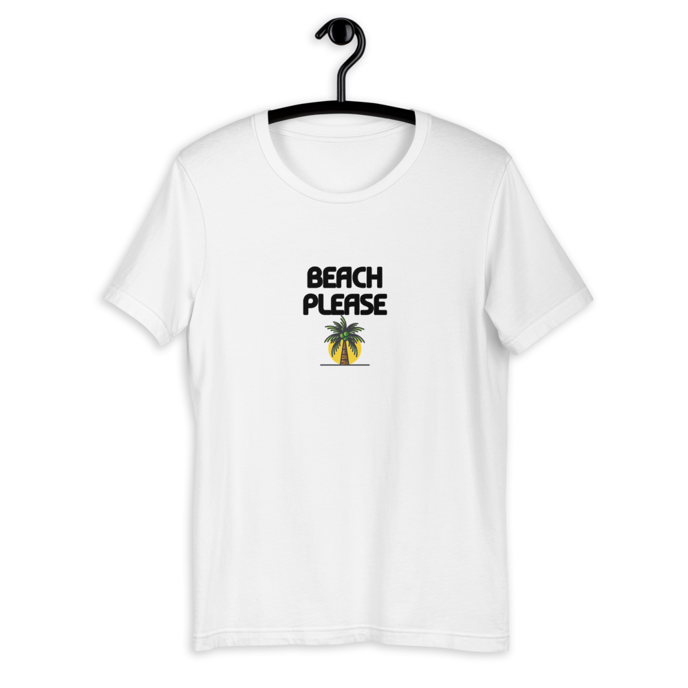 BEACH PLEASE T-SHIRT - Patch Fusion