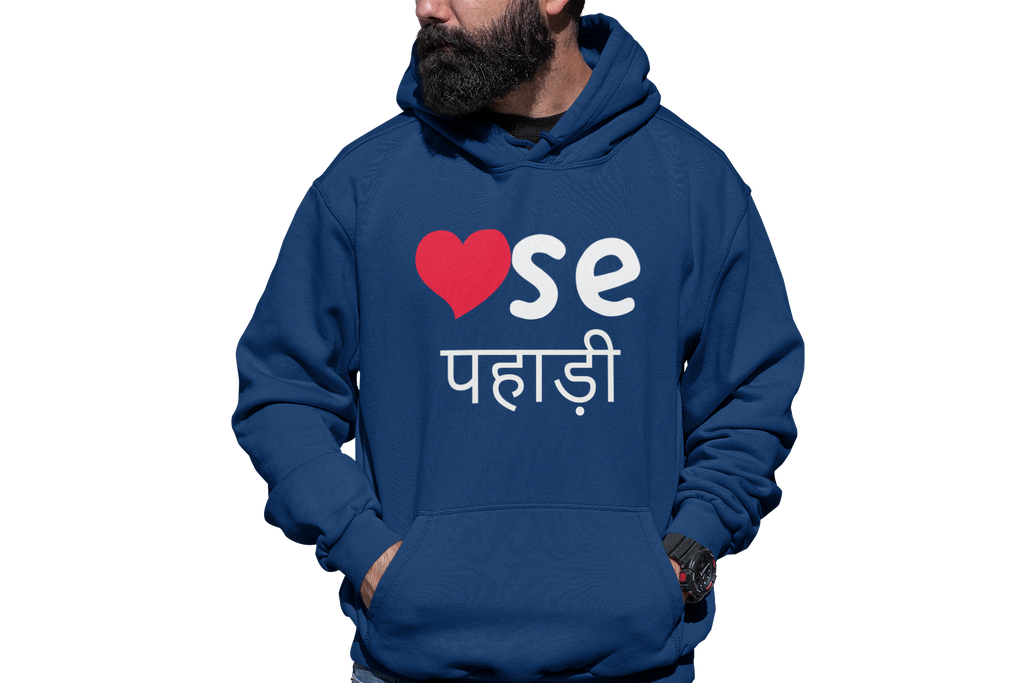 DIL SE PAHADI - UNISEX HOODIE - Patch Fusion