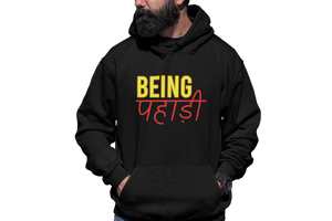 BEING PAHADI - UNISEX HOODIE - Patch Fusion