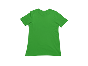 GREEN HALF SLEEVE T-SHIRT - Patch Fusion