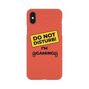 DO NOT DISTURB I AM GAMING - MOBILE CASE - Patch Fusion