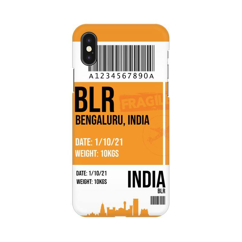 BENGALURU BOARDING PASS - MOBILE CASE - Patch Fusion