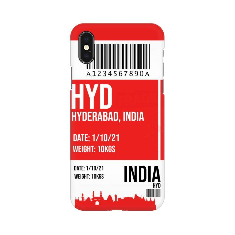 HYDERABAD BOARDING PASS - MOBILE CASE - Patch Fusion
