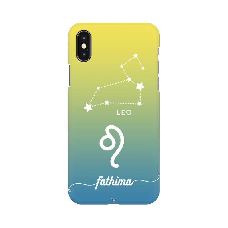 CUSTOMIZABLE LEO ZODIAC SIGN PHONE CASE